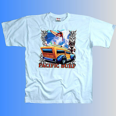 1194 * vintage surfing tiki surfeur Oldtimer t-shirt