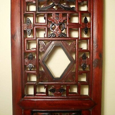 Antique Chinese Screen Panels (2760)(Pair), Cunninghamia Wood, Circa 1800-1849 8