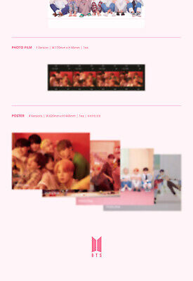 BTS [MAP OF THE SOUL:PERSONA] Album RANDOM CD+POSTER+2F.Buch+2Karte+Film SEALED 6