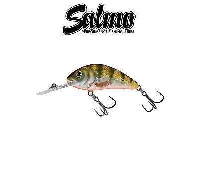 Salmo Rattlin Hornet Shallow 4.5cm 5.5g Lure Crankbait Predators NEW 2020