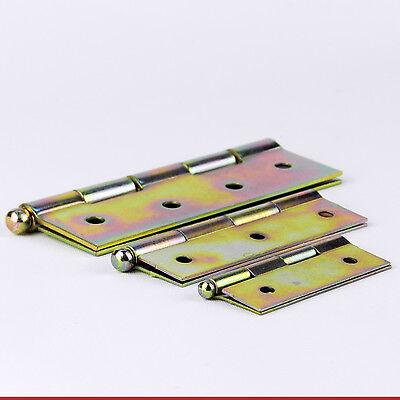 70 mm BUTT HINGES  GALVANIZED  DOOR BOX CABINET CUPBOARD BACKFLAP HINGES