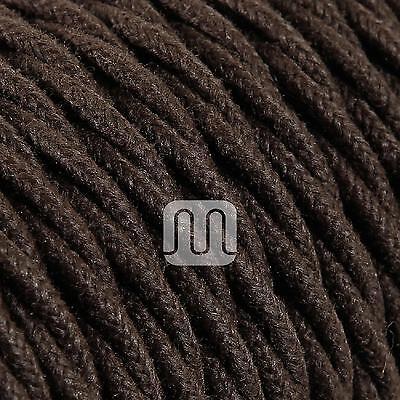 Cavo Treccia Tessile Tessuto Colorato Marrone Grezzo Intrecciato Design  Vintage