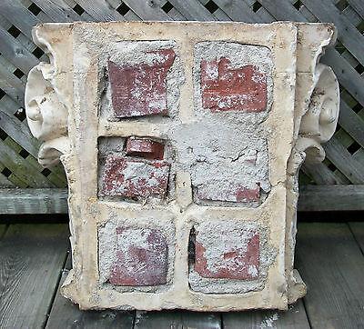 Antique Corinthian Capital - Glazed Ceramic - Canada/U.S. - Late 19th Century