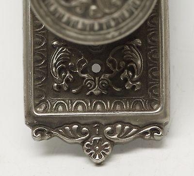 Single Ornate Knob With Matching Plate 5