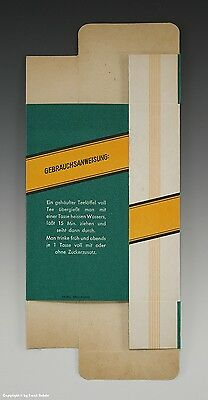 Gefaltete Packung Sardonia RHEUMA TEE um 1950