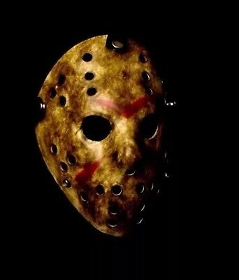 Friday The 13th Hockey Mask Costume Jason Voorhees Horror USA SELLER FAST SHIP 3