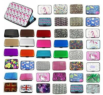 RFID CREDIT CARD HOLDER Case Protector Waterproof Anti-Theft Contactless Block 8