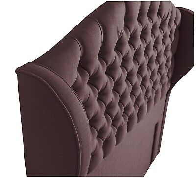 Cosenza Floor Standing Headboard Various Sizes and Colours Plus Swatch 4