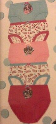 5 Pairs Girls LOL L.O.L. Surprise Doll Knickers Briefs Underwear Age 1 - 10 Year 4