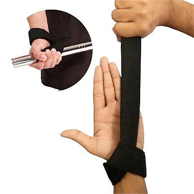 Padded Weight Lifting Training Gym Straps Hand Bar Wrist Support Gloves Wraps 7