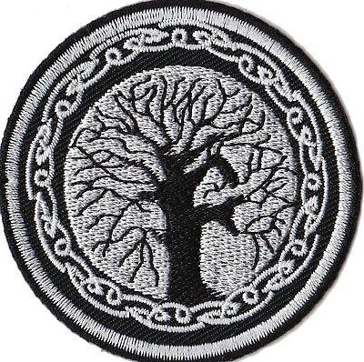 Patch écusson patche Arbre de vie celte thermo Yggdrasil celtique tree life 2