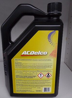 GENUINE HOLDEN ACDELCO DEX-COOL Extended Life Coolant (Red) 5Lt - 92508015