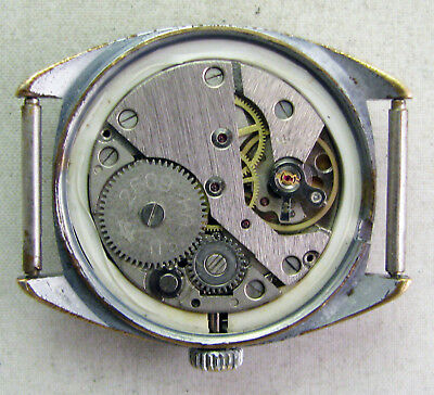 RARE Vintage Soviet USSR Russian watch RAKETA 2609HA 90's ORIGINAL Serviced 22 5