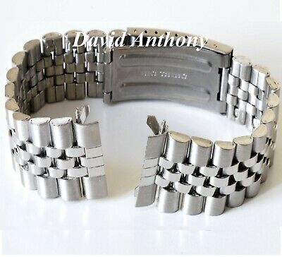 18mm 20mm OR 22mm For JUBILEE STYLE STRAIGHT ENDS, WATCH BRACELET, GOOD QUALITY! 2