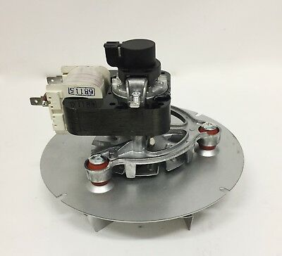 Estrattore fumi stufa pellet ventilatore universale 48W TRIAL ventola motore 4