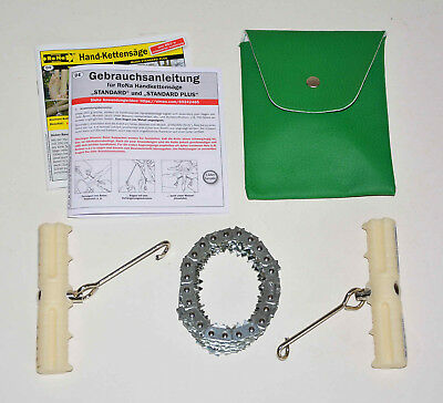 RoNa Handkettensäge Baumsäge Wurzel sägen -- sägt auch Kanthölzer u. PVC Rohre