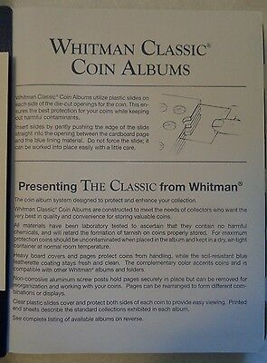 Whitman Classic Lincoln Cents Album 1909-1995, New 4
