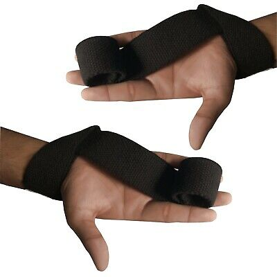 Padded Weight Lifting Training Gym Straps Hand Bar Wrist Support Gloves Wraps 4