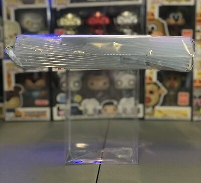"10 FUNKO POP! BOX PROTECTORS FOR 4"" VINYL FIGURE .50mm Super Thick CLEAR CASES 2"