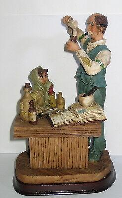Der Apotheker, Deko Figur, Nostalgie Stil, aus Polyresin, abwaschbar, 21x13x10cm 6