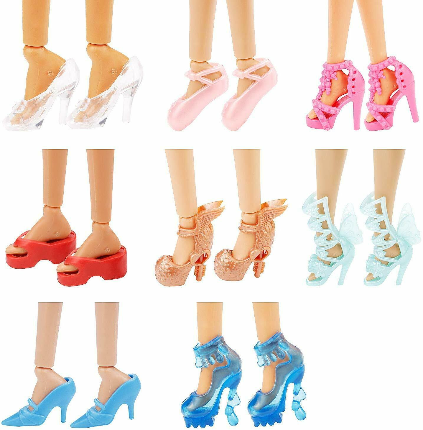 36PCS Barbie Doll Clothes & Doll Shoes Party Gown Outfit Toy Accessories 3