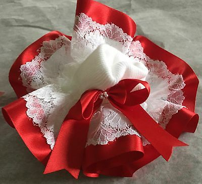 💝Spanish Ruffle detail Frilly Ankle Socks Pearl Bow 🎀Jazziejems Boutique ❤️ 5