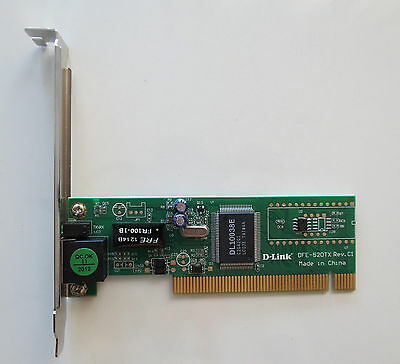 ... D-LINK LAN Network Card 10/100 Fast Ethernet PCI Dual Speed Adapter DFE