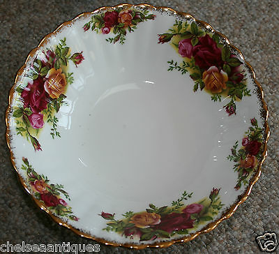 Vintage 1962 Royal Albert Old Country Roses SOUP BOWL/PUDDING/SALAD DISH D16cm