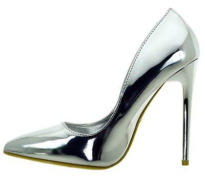 the best attitude f011a 42847 Donna A Vernice Spillo Scarpe Decolte Oro Eleganti Tacchi ...