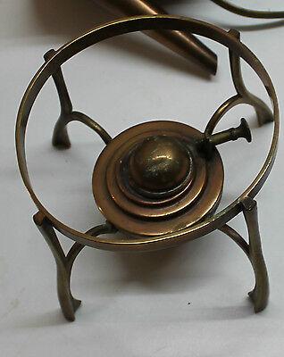 kettle spirit copper art nouveau signed teapot samovar jugendstil arts and craft 5