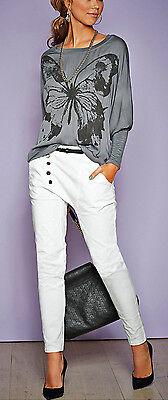 """""""Retourenware"""" Coole Boyfriend Jeans Hose Grau GR. 42 Stretch 908653 NEU TOP! 6"""
