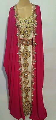 2 pcs wedding  farashas.khaliji farasha.dress.moroccan/indian kaftan.abaya .new 8