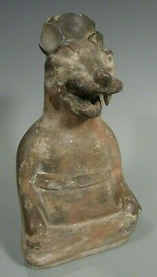 Pre Columbian Peru North Coast Moche Mochica Snarling Fox Vessel ca. 500 AD 2