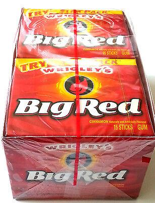 Wrigley's Big Red Cinnamon Chewing Gum - 10 Packs Bulk Lollies 2