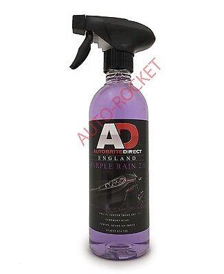 Autobrite Direct Purple Rain v3, Iron Decontamination Fallout Remover 2 X 500ml 2