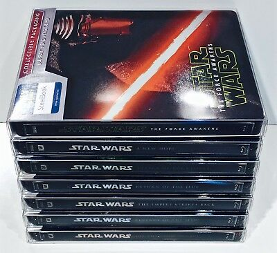 10 Steelbook Box Protectors / Protective Sleeves Cases  / Clear Slipcovers  G2 7
