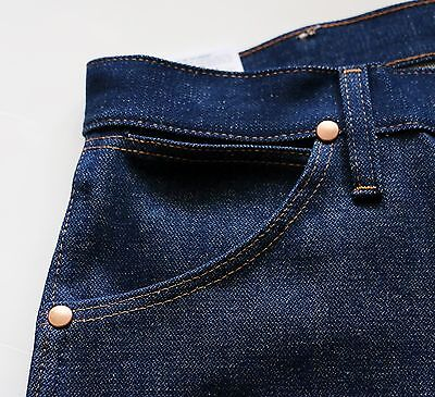 2da7ba46 ... New Wrangler Cowboy Cut 13MWZ Original Fit Jeans Rigid Indigo Men's  Sizes 8