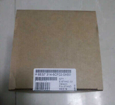 New In Box Siemens 6ES7314-6CF02-0AB0 6ES7 314-6CF02-0AB0 One year warranty #XR 2