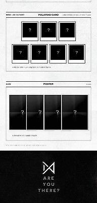 MONSTA X [TAKE.1 ARE YOU THERE?] 2nd Album Ver.II CD+FotoBuch+2p Karte+Pre-Order 5