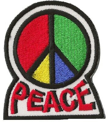 Ecusson brode patch mandala Peace And Love  badge 65