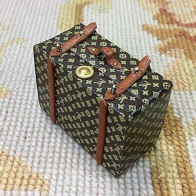 Pat Tyler Dollhouse Miniature Genuine Leather Designer Hat P923