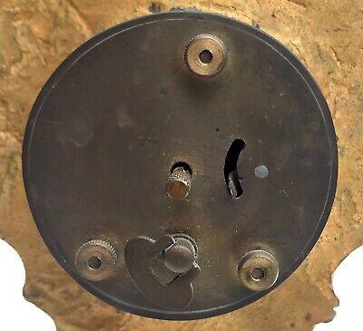 Lovely Antique German Ormolu Strut / Easel Mantel Clock 11