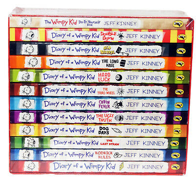 Diary of a Wimpy Kid Box Set Collection - 12 Books 2018 2