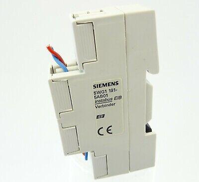 SIEMENS KNX EIB Verbinder 5WG1 191-5AA01 2fach Datenschienen Verbinder NEU