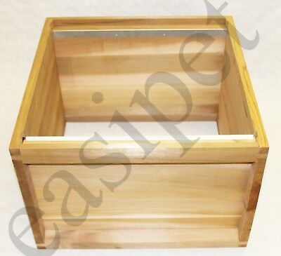 National Bee Hive Cedar Deep Brood Box Beekeeping Beehive Keeper Easibee