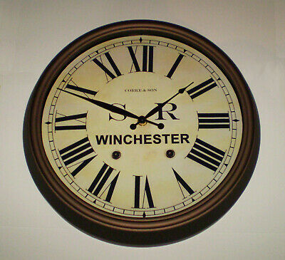 Southern Railway SR Historic Style Station Clock, Winchester Station 3