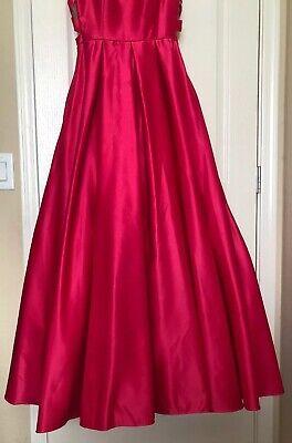 aadbb893874 ... Dillards Pink Long Ball Gown Prom Dress Strapless Blondie Nites By Stacy  Sklar 9 4