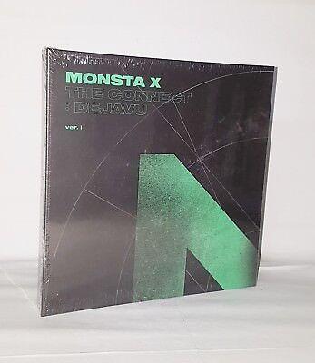 MONSTA X Album [THE CONNECT : DEJAVU] CD + 84p Booklet + 2p Photocard Sealed 7