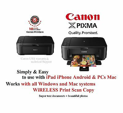 Canon PIXMA MG3520 Wireless All-in-One Inkjet Printer/Copier/Scanner Brand NEW!! 2