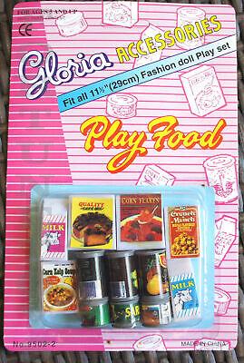 GLORIA DOLL HOUSE FURNITURE Size Vegetable + Fridge Food + Utensil For Dolls 2